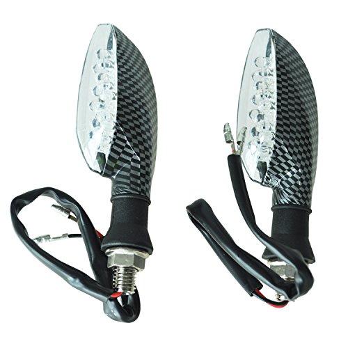 Preisvergleich Produktbild Blinker - SODIAL(R) 2 Stueck 16-LED Motorrad Blinker.