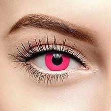 Lentes De Contacto De Color Rosa UV i-Glow (90 Días)