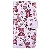 Hnzxy Coque iPhone SE/iPhone 5 5S,Portefeuille Etui Housse pour iPhone SE/iPhone 5 5S...