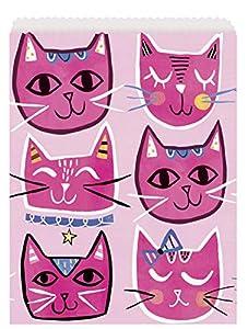 Unique Party 73253 - Bolsas para fiestas, color rosa