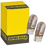 2er Set BREHMA Chroma vision Silver Blinkerlampen T10 WY5W E1