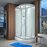 AcquaVapore QUICK26-7005R Dusche Duschtempel Komplette Duschkabine -Th 80x120, EasyClean Versiegelung der Scheiben:2K Scheiben Versiegelung +89.-EUR