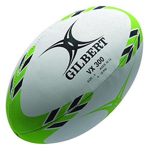 Gilbert G-TR3000 - Pelota de rugby, color verde, talla4