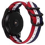 NATO Montre Bracelet Bracelet pour Hommes Remplacement Bracelet Bracelet en Nylon...