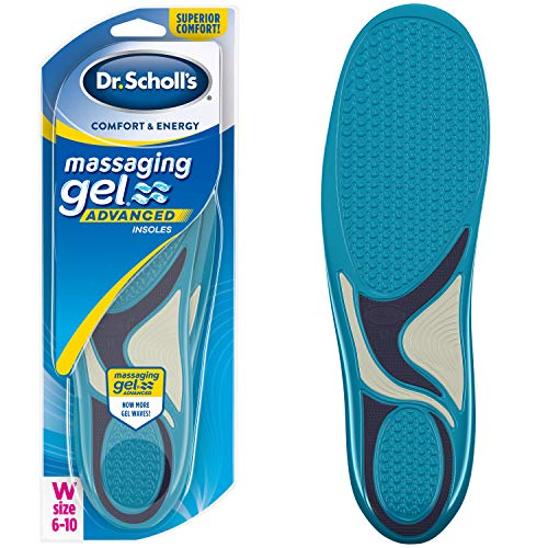 Dr. Scholl's Comfort And Energy Massaging Gel Insoles For Women - 1 Pair (Size 6-10)