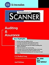 Scanner-Auditing & Assurance (CA-Intermediate)(November 2018 Exams-New Syllabus)