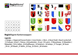 RegioMagnet Kantonswappen Schweiz