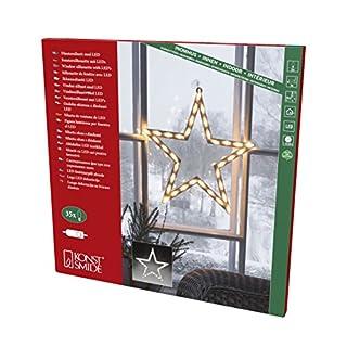 Konstsmide, 2164-010, LED Fenstersilhouette,