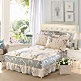 Best Linen Store Bed Skirts - YFFS Cotton Bedspread Bedspreads Single Piece Cotton Bed Review