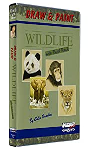 Colin Bradley: Draw And Paint Wildlife With Pastel Pencils [DVD]