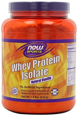 Whey protein isolate - 816 g - Vanille - Now foods