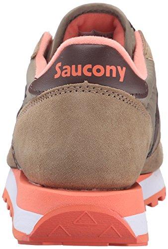 SAUCONY ORIGINALS  Saucony Jazz Original Women, Sneakers basses femme Olive/Brown