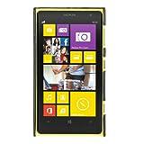 Melkco NKLU10LOLT1BKLC Leder Snap Cover für Nokia Lumia 1020 schwarz