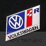 Volkswagen R Line Insignia Emblema (Azul), para VW Golf GTI VR6R32MK 2, 3, 4, 5, TDI
