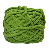 #6: Fancyku Soft Thick Yarn DIY Scarf, Sweater, Towel, Socks, Hats, Knitting Chunky Towelling Yarn Ball(100g/ball)