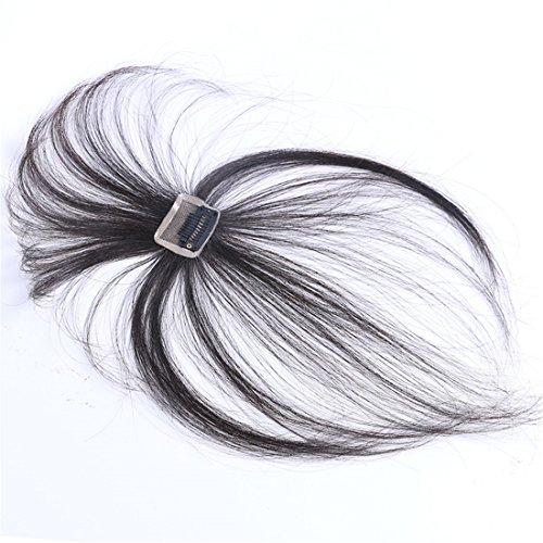 Unsichtbare Clip-In-Haarverlängerung aus Echthaar, 3D, dünn, handgebunden, für Damen, rotbraun - Crown Hair Extensions