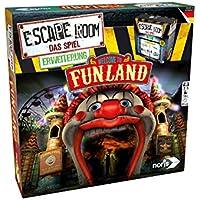 Noris Spiele 606101618 Escape Room Erweiterung Welcome to Funland, Nur Mit Chrono Decoder spielbar Strategiespiel