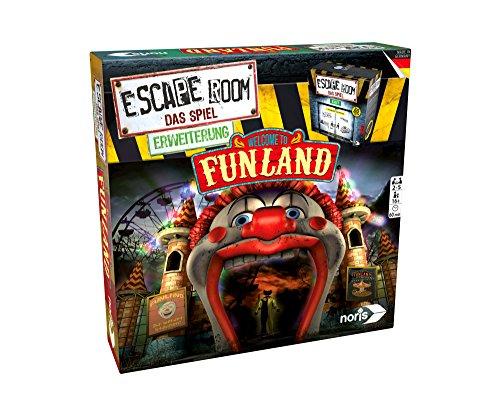 Noris 606101618 Escape Room Erweiterung Welcome to Funland, nur mit dem Chrono Decoder spielbar