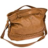 Billabong ANITA BAG - Bolso de mano mujer, color beige, talla 45x34x18 cm (B x H x T)