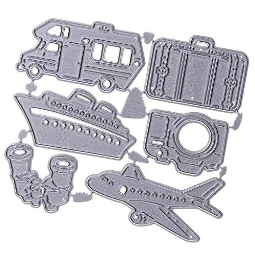 Sharplace Rahmen Metall DIY Stanzformen Schablone Stanzmaschine Prägeschablonen Fee Vintage Spiegel Form Stanzschablone Kreative Spielzeug - Reise Zubehör