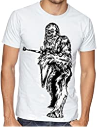 Great Gear Store - T-shirt - Homme Blanc Blanc