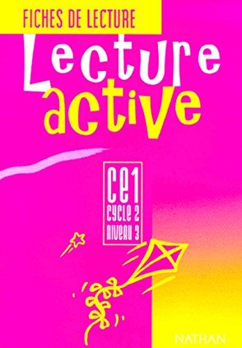 Lecture active, CE1, élève par Delmont