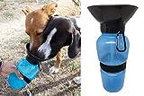 Botella de agua para perro,H2Ogs, bebedero portatil ideal para viajes y paseos con tu mascota