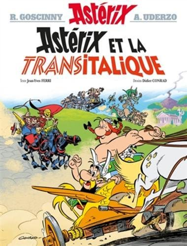 Asterix in French: Asterix et la Transitalique