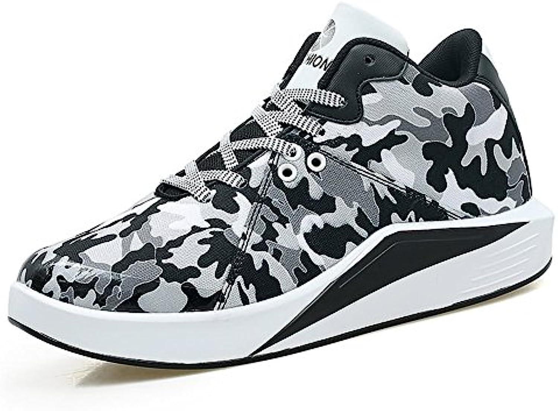 Shufang-scarpe, 2018 scarpe da ginnastica da da da uomo Tacco piatto Canvas Lace up Scarpe comode per il relax (Coloree   nero-bianca...   vendita di liquidazione    Sig/Sig Ra Scarpa  f6154c