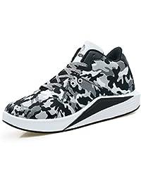 Yajie-shoes Zapatillas de Deporte de Moda de los Hombres de Lona Planas de tacón con Cordones cómodos Zapatos relajantes (Color…