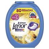 Lenor 3in1 PODS Goldene Orchidee Colorwaschmittel, 80 Waschladungen