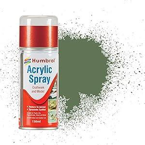Humbrol - Pintura spray Grass Green (Hornby AD6080)