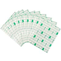 wordmo 20pcs Waterproof Plaster Transparent Adhesive 15cmX15cm Medical Wound Dressing Tape Fixer Plaster Stretch Fixation Tape Tattoo Aftercare Bandage Anti-Allergic self-Paste