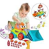 Toys Bhoomi Take Apart DIY Assembling Construction Bulldozer Toy Car Truck for Kids