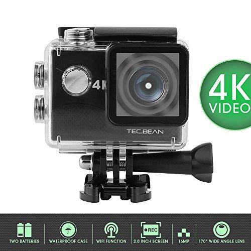 tecbean-minivideocamera-4k-display-fhd-lcd-2-impermeabile-e-wifi-incorporato-batterie-e-accessori-in