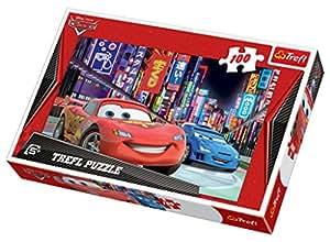 Trefl Puzzle Tokyo by Night Disney Cars (100 Pieces)