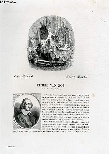 Biographie de Pierre Van Mol (1599-1650) ; Ecole F...