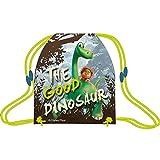 Zainetto con cordoncino, sacchetto di drawstring °The Good Dinosaur° cm. 32 x 41 x 1