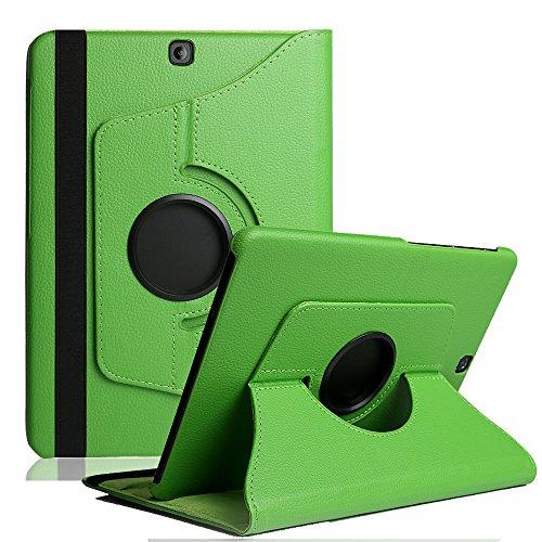 Preisvergleich Produktbild Galaxy Tab A 10.1 Hülle ,TechCode 360 Grad Drehung Schutzhülle Flip Case Book Cover lederhülle für Samsung Galaxy A 10.1 2016 T580N/ T585N mit Standfunktion / Auto Sleep - PU Leder