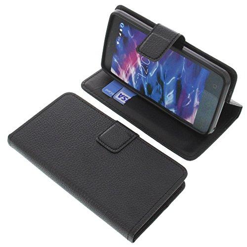 foto-kontor Tasche für MEDION Life E4504 Book Style schwarz Schutz Hülle Buch