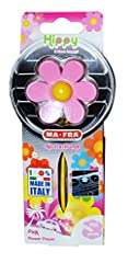 Idea Regalo - Ma-Fra Hippy Flower Power Profumatore Auto, Rosa