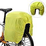 Lixada 3 in 1 Bici Pannier 37L Multifunzionale Impermeabile Borsa per Baule Posteriore Staccabile Portapacchi per Biciclette per MTB Bici da Strada Nero