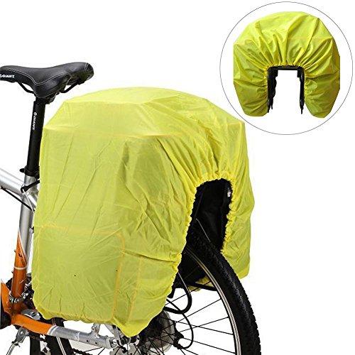 Biback Fahrrad-Beutel-Regen-Abdeckungs-Fahrrad-Motorrad-hinteres Regal-regendichte Fracht-Rucksack-Abdeckung für Outdoor-wandernde Reise-kletternder kampierender Bergsteigen -