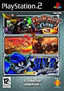 Triple Pack : Jak 3 + Ratchet & Clank 3 + Sly Raccoon 2