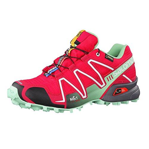 SalomonSpeedcross 3 Gtx - Scarpe Running uomo Rosa (Lotus Pink Lucite Green Black)