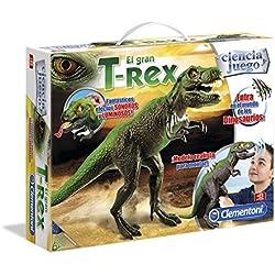 Clementoni - Figura de T-Rex con Luces y Sonidos (55121.7)