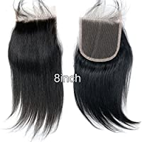Dreambeauty Brazilian Remy Hair Closure 4x4inch Top Hairpiece Straight Natural