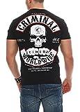 Mafia & Crime Herren T-Shirt Criminal (4XL, schwarz)