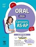 Concours Aide-soignant et Auxiliaire de puériculture 2016 Epreuve orale Le tout-en-un: Avec livret d'entraînement et vidéos d'entretiens en ligne...