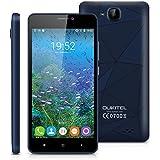Oukitel C3 - 3G Smartphone Android 6.0 Libre Multitáctil (Pantalla 5'', MT6580 Quad Core 1.3GHz, 1GB RAM, 8GB ROM, 5.0MP Cámara), Azul Oscuro